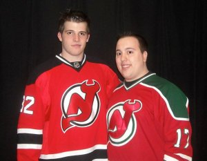 Kevin with Nick Palmieri