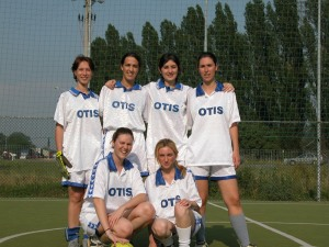 Emanuela's Soccer Team in Italy
