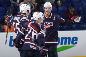 Palmieri, Team USA win over Norway