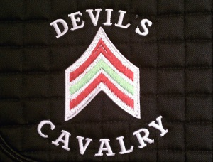 Kim's Devils Saddle Pad