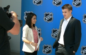 Zach Parise Media Day Interview