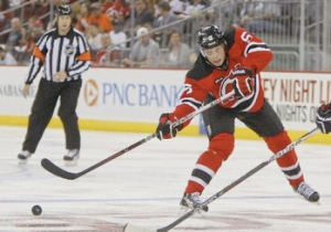 Adam Larsson vs Flyers Oct 8, 2011