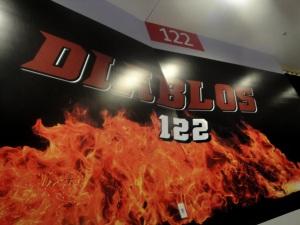 122 Diablos Sign