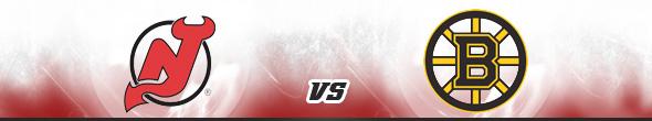 New Jersey Devils vs Boston Bruins