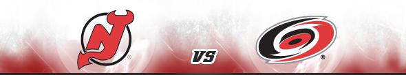 New Jersey Devils vs Carolina Hurricanes