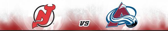 New Jersey Devils vs Colorado Avalanche