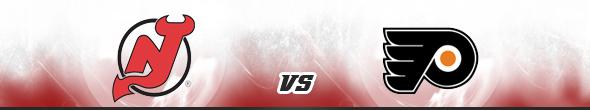 New Jersey Devils vs Philadelphia Flyers