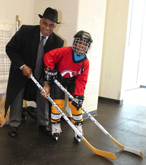 Willie O'Ree, Try Hockey For Free
