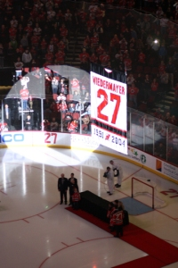 Scott Niedermayer Night, Prudential Center