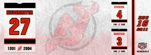 New Jersey Devils Retire Niedermeyer #27, Facebook Timeline Cover