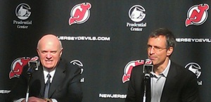 Scott Niedermayer Press Conference at Prudential Center - Dec 16, 2011