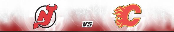 New Jersey Devils vs Calgary Flames