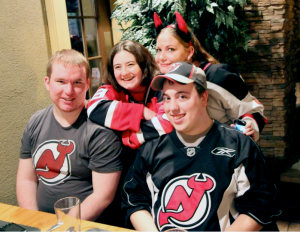 Devils Army Generals at Viewing Party 2012