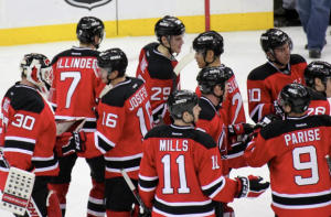 Devils Win vs Jets at Prudential Center: Jan 17, 2012
