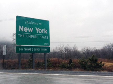 Albany Devils Trip, New York State Line