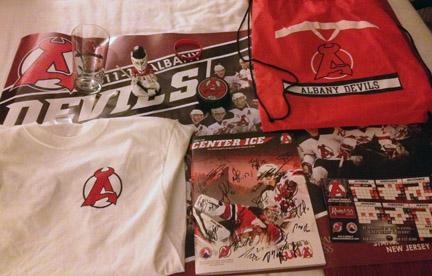Albany Devils Trivia Prize Pack