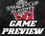 Stanley Cup Playoffs – Game #1 Preview – New Jersey Devils vs. Florida Panthers