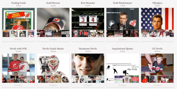 New Jersey Devils Pinterest Page
