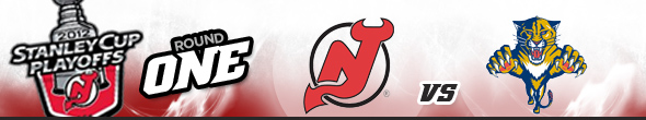 Stanley Cup Playoffs Round One, New Jersey Devils vs Florida Panthers
