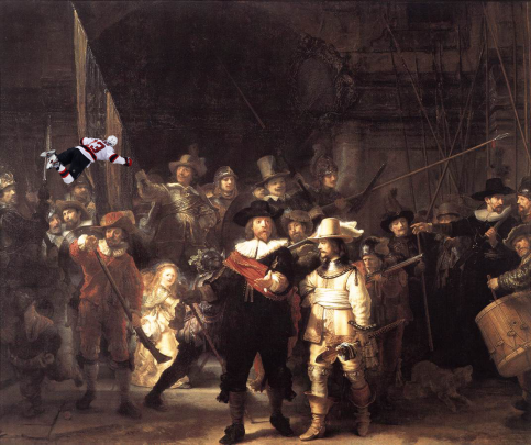 Spot the Clarkson: Clarkson Rembrant via @batmaneatsbabie