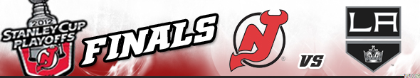 2012 Stanley Cup Finals, New Jersey Devils vs LA Kings