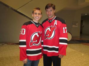Ryan and Ilya Kovalchuk