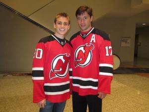 Ryan and Ilya Kovalchuk