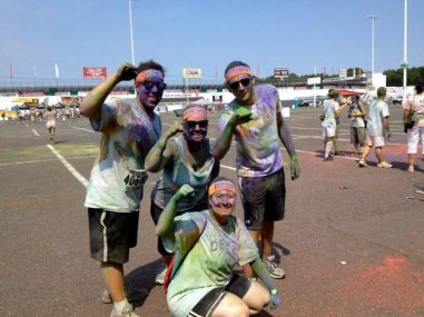 Devils Generals, Color Run 2012