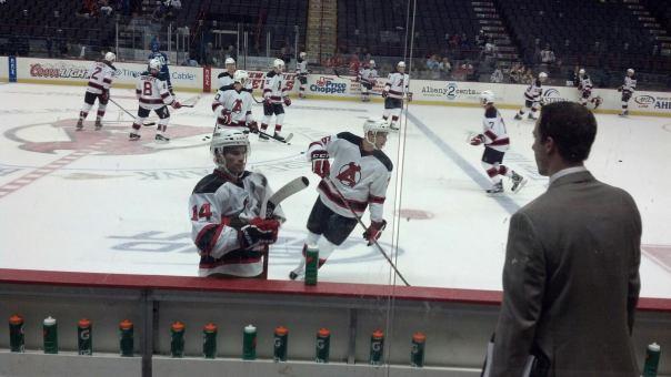 Adam Henrique, Albany Devils