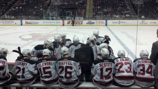 Albany Devils Timeout