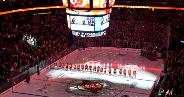 New Jersey Devils Home Opener 2013