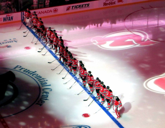 New Jersey Devils 2013 Opening Game
