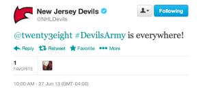 #DevilsArmy