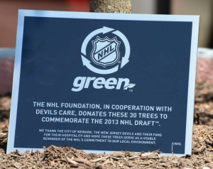 NHL Go Green 2013
